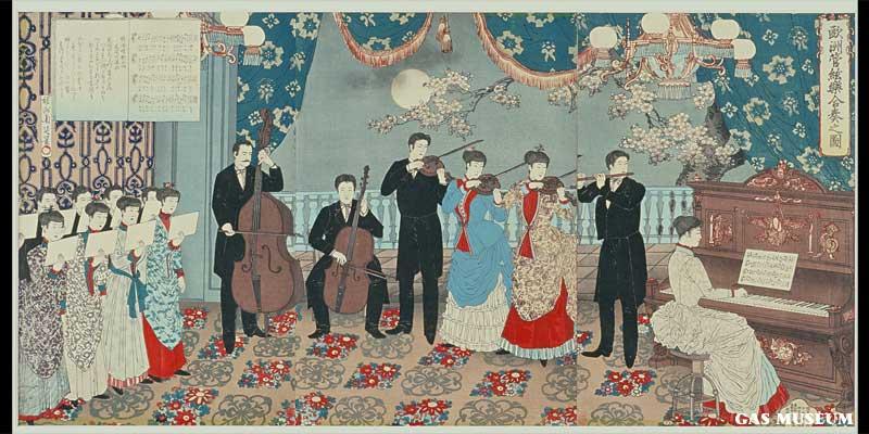 欧洲管弦楽合奏之図