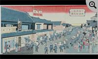 日本橋通本町繁花之図