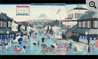 東京駿河町国立銀行繁栄図