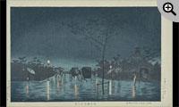 浅草橋雨中之景