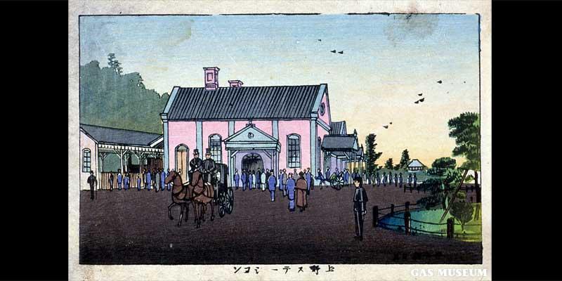 東京真画名所図解 上野ステーション