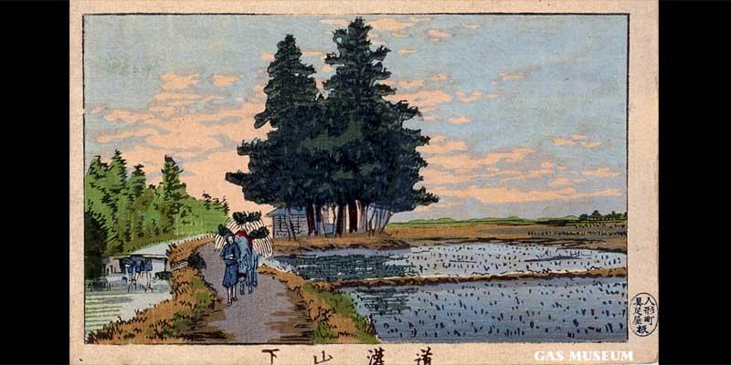 東京真画名所図解 道灌山下