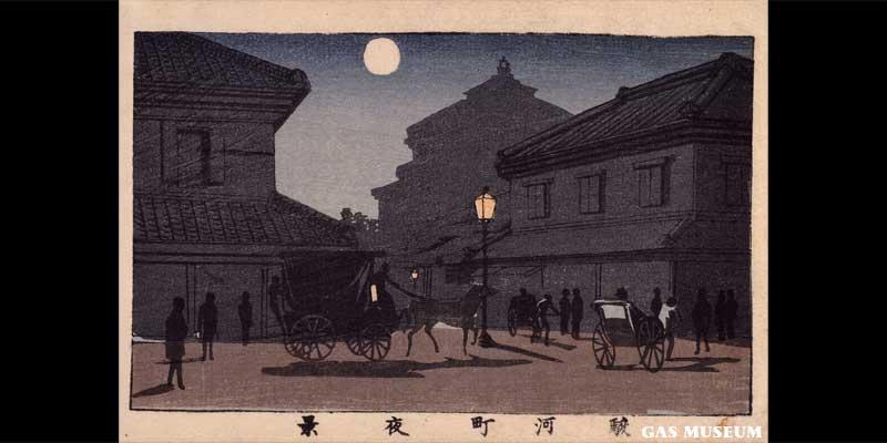 東京真画名所図解 駿河町夜景