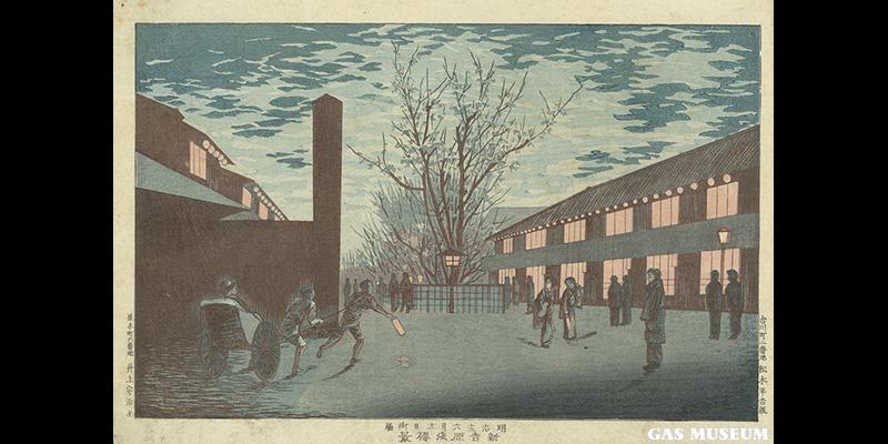 新吉原夜桜景